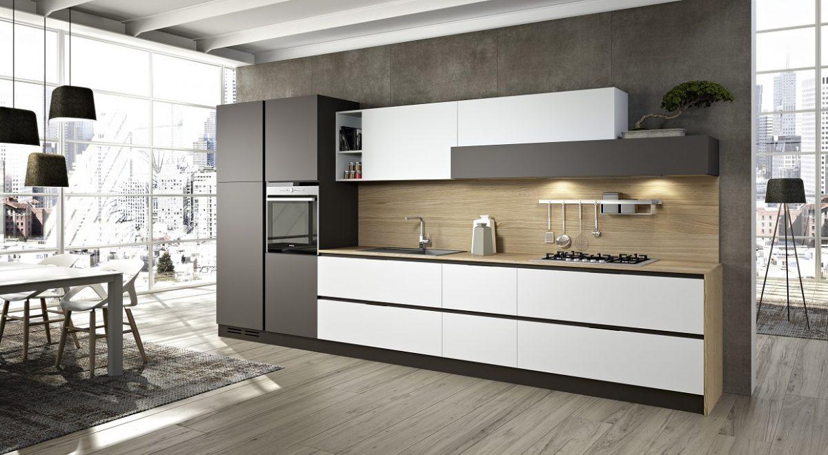 Linea plana kuchynsk t dio maximakuchyne for Plateros de cocina modernos